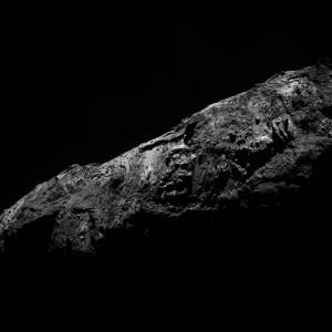 Eines der letzten Bilder von 67P/Tschurjumow-Gerassimenko aus dem Jahr 2015. Aufgenommen von der Sonde Rosetta am 31.12.2015. Foto: ESA/Rosetta/MPS for OSIRIS Team MPS/UPD/LAM/IAA/SSO/INTA/UPM/DASP/IDA