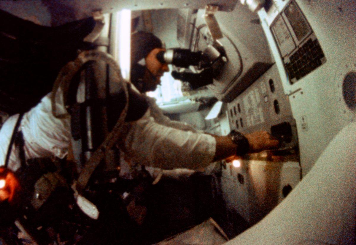 Steampunk bei der Mondlandung: Der Space Sextant