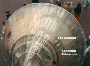 Apollo 11 von außen, mit Space Sextant. Foto: NASA