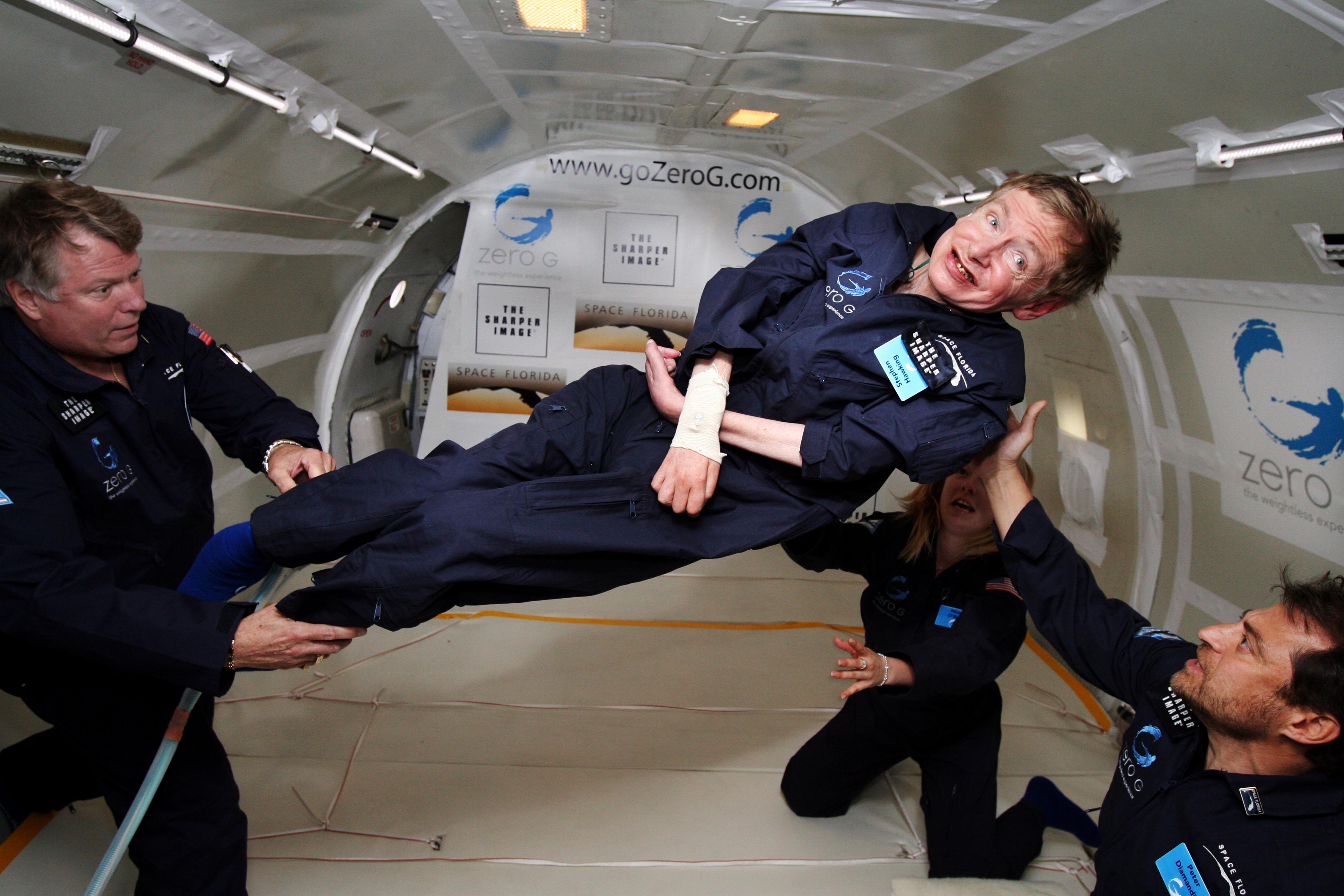 Danke, Stephen Hawking